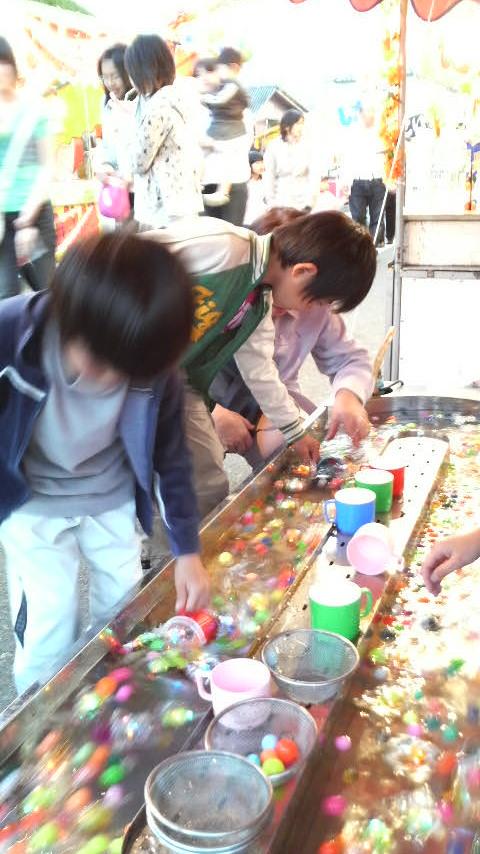 地元の祭りに…(*^^*)<br />  ♪