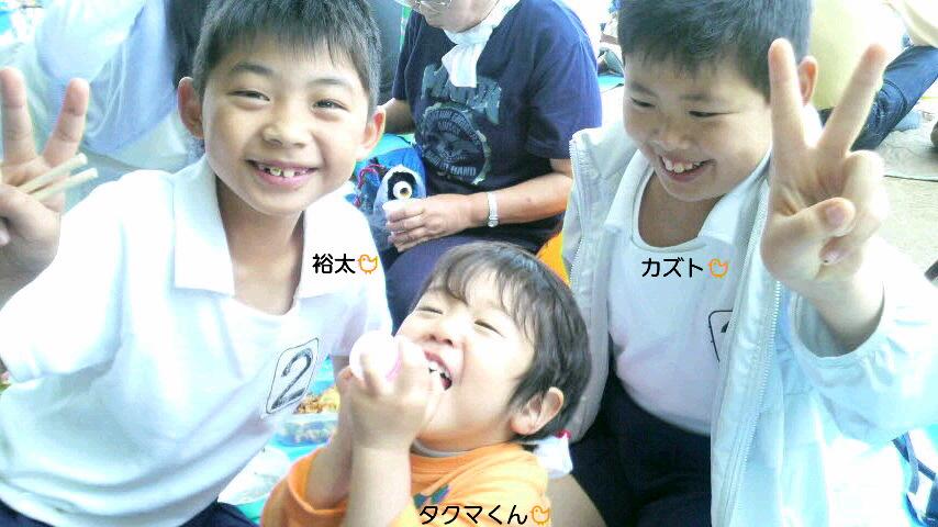 裕太とカズトの運動会パート2☆